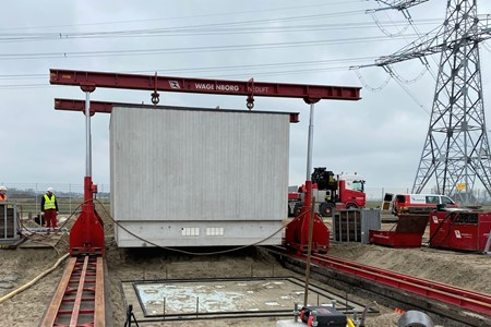 Transformer cabins for Vierverlaten